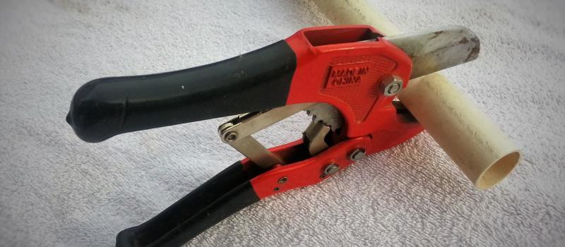 How To Cut Deburr Glue PVC Pipe & How To Cut Deburr Glue PVC Pipe · My Busy Retired Life