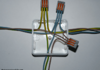 Push connectors in Junction box