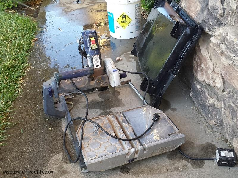 Buying A Used Wet Tile Saw 183 My Busy Retired Life